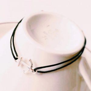 Armband-Anker-Silber