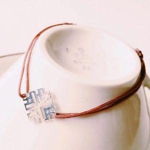 Armband-Square-geometrisch-Silber