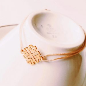 Armband-Square-geometrisch-gold