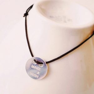 Armband-make-a-wish-Silber