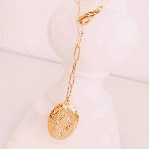Kette-Medaillon-II-gold