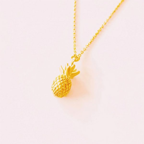 Kette-Pineapple-gold
