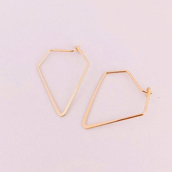 Ohrringe-Diamond-gold
