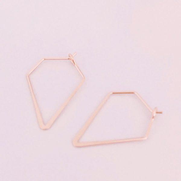 Ohrringe-Diamond-roségold