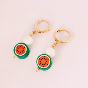 Ohrringe-Fruiti-melone