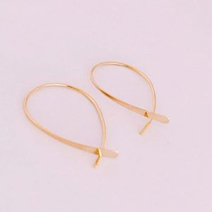Ohrringe-Simple-gold